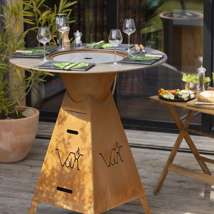 Table Plancha Vulx Magma